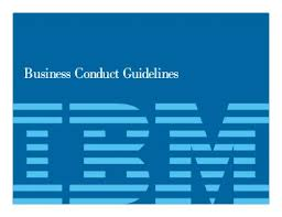 Business Conduct Guidelines