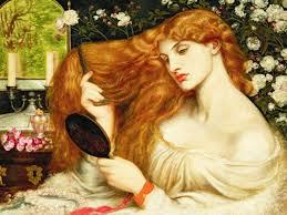 Lilith by Dante Gabriel Rossetti